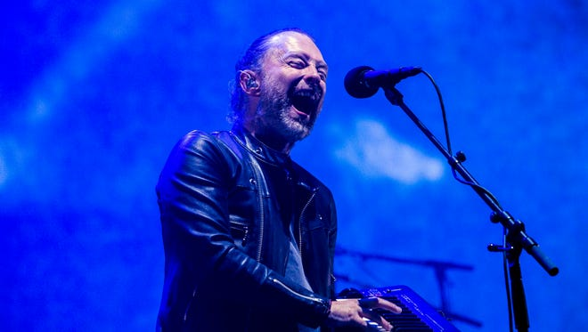Thom Yorke was delighted fans could actually hear him this time around.