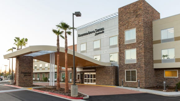The 97-room Folsom Fairfield Inn and Suites in Folsom,
