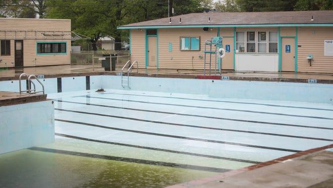 The swimming pool for Halteman Swim Club in Muncie closed last year.
