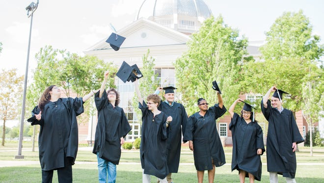 The 2017 graduating class of Union University's E.D.G.E. program have gained independence, confidence and employment.