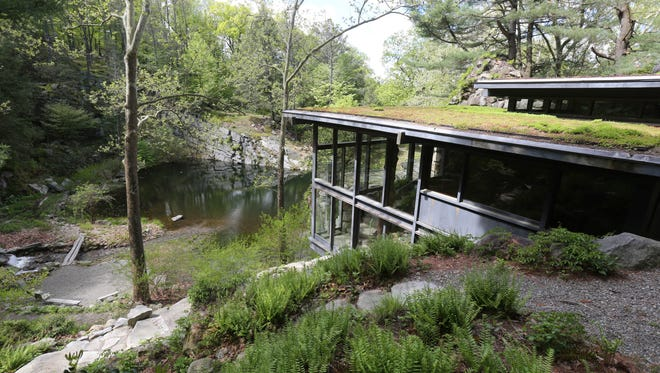 A view of the home and the grounds at Manitoga, the Russel Wright Design Center in Garrison, May 10, 2017.
