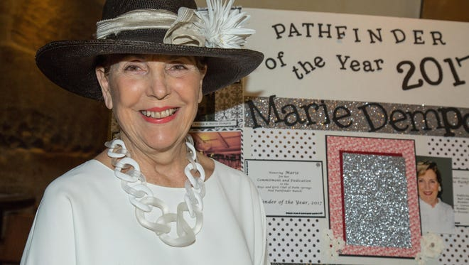 Marie Demsey -Pathfinder of the Year.