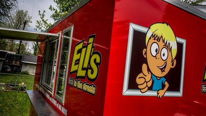 """Gary Lokers, of Kimball Township, is starting up a food truck called """"Eli's Eats."""""""