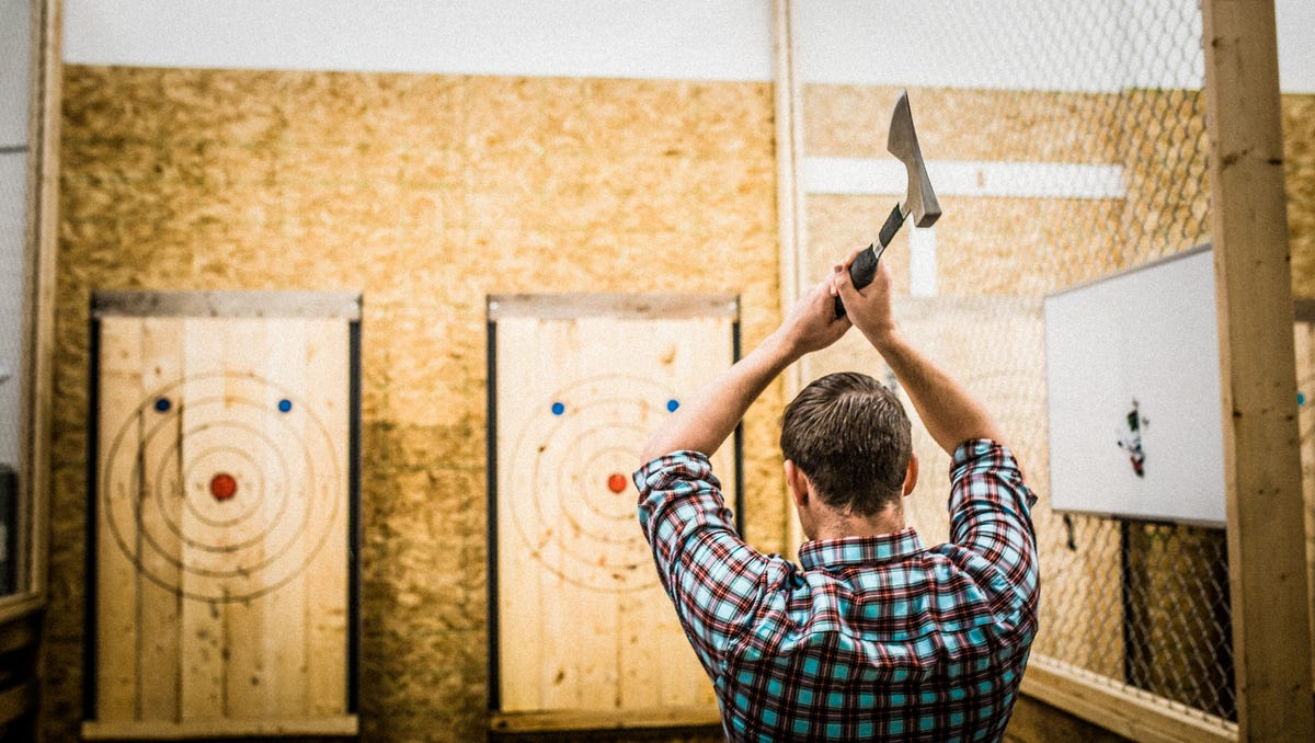 Starting this spring, you can try your hand at ax-throwing downtown.