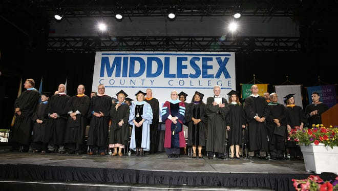 Degrees and certificates were awarded to 1,476 students at Middlesex County College's 50th annual Commencement on Tuesday, May 23, 2017.