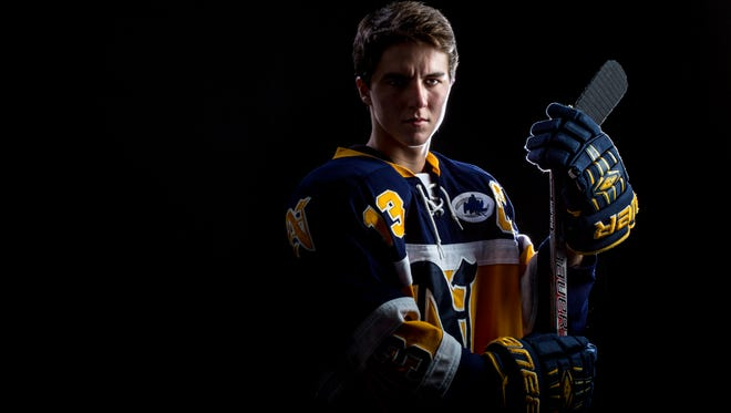Port Huron Northern senior Corey Easton is the Times Herald Hockey Player of the Year.