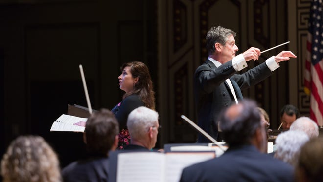 Conductor Harry Bicket provided stylish direction in Bach's B Minor Mass at the May Festival to conclude the season Saturday.