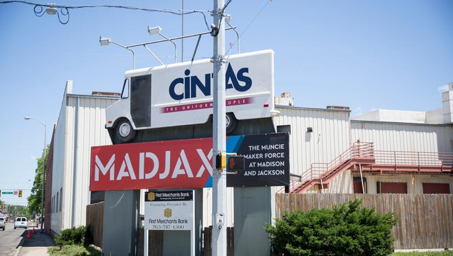 The exterior of Madjax will slowly see minor improvements, while maintaining the industrial style of the building.