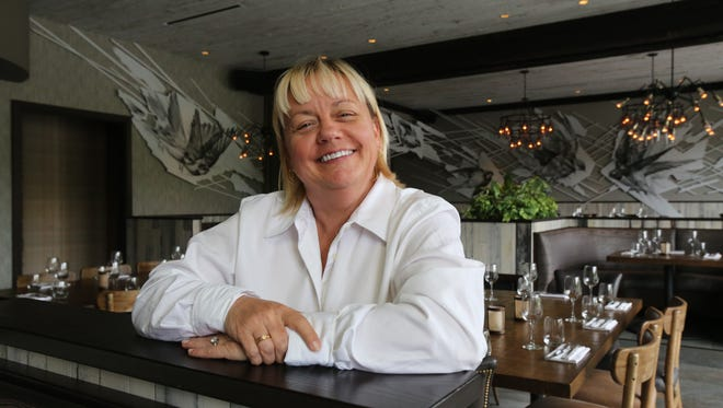 Sherry Yard, COO of the Tuck Hospitality Group, at her City Perch Kitchen + Bar at the Rivertowns Square in Dobbs Ferry, June 8, 2017.