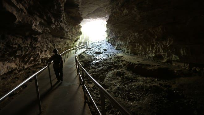 Mammoth Cave National Park in Kentucky is open but park services are unavailable due to the government shutdown.