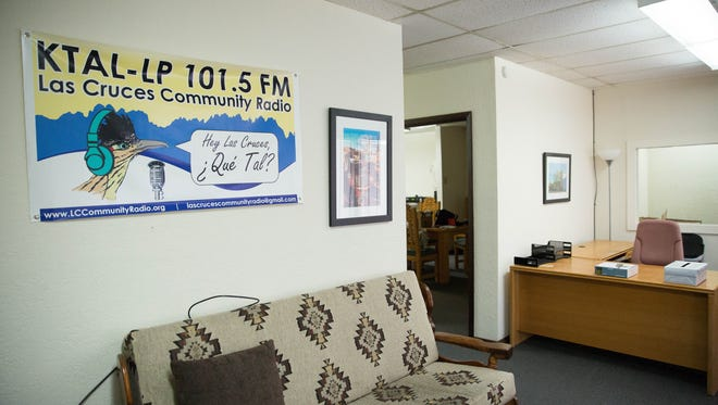 The Lobby of the new KTAL community radio station. Thursday, June 22, 2017.