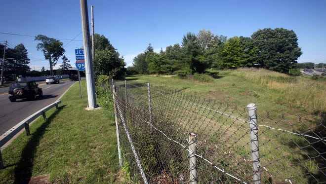 A parcel of land across Boston Post Road near Rye Country Day School. A recently passed law in the state legislature paves the way for the school to buy the property. Photographed June 28, 2017.