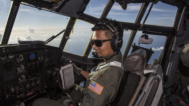 A rescue team out of Patrick Air Force base saved a father and son stranded at sea this weekend.