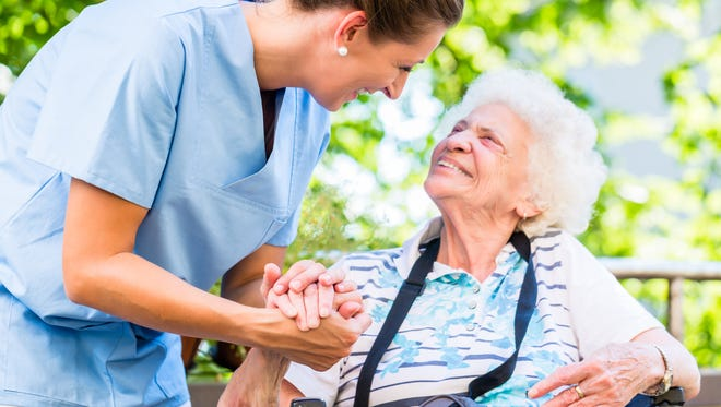 Nearly two-thirds of Americans in nursing homes are on Medicaid.