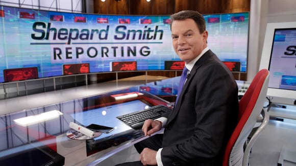 Fox News Channel chief news anchor Shepard Smith on