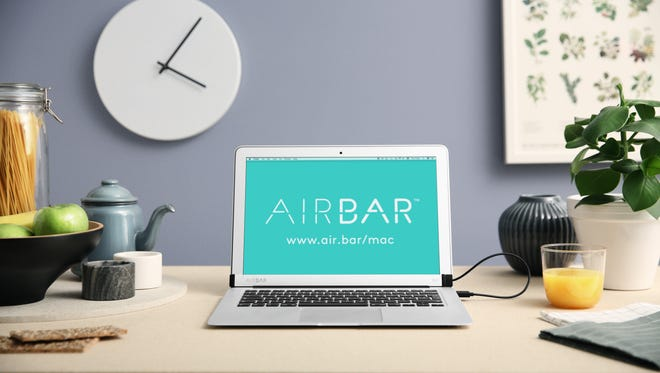 AirBar is meant to blend in on a 13.3-inch MacBook Air