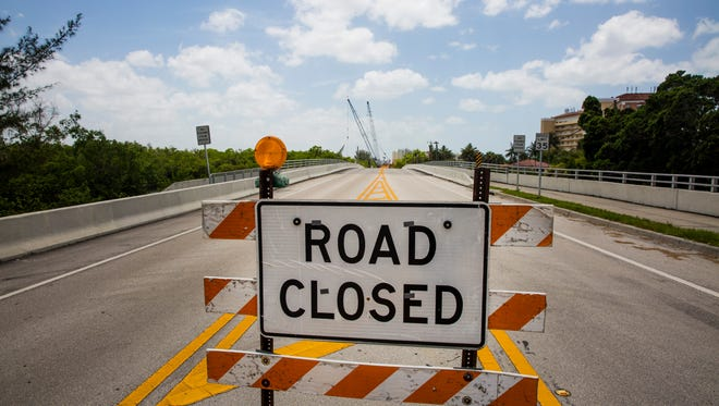 Vanderbilt Drive remains closed for construction on Friday, Aug. 4, 2017. The road has been closed for nearly two years to replace two bridges that were deemed functionally obsolete by the state Department of Transportation during an inspection in 2012.