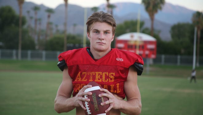 Brook Stephenson of Palm Desert High School.