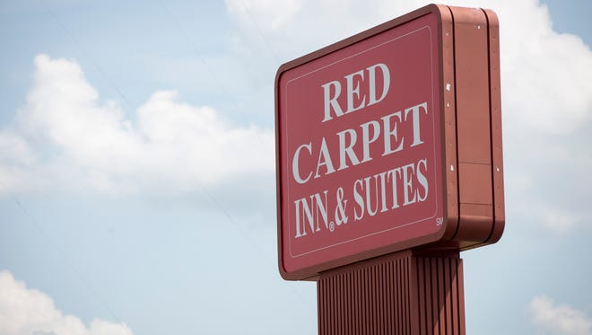 The Red Carpet Inn and Suites on Muncie's south side.