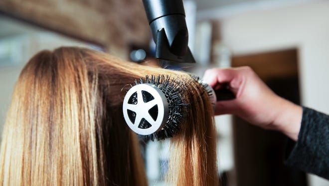 The Social Chair is a blowout bar, which provides styling services in a salon atmosphere.