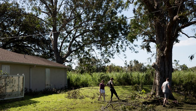 Residents, most of which are still without power due to Hurricane Irma, do their best to go on with their day to day lives Wednesday, September 13, 2017 in Estero, San Carlos, and Island Park, Fla.