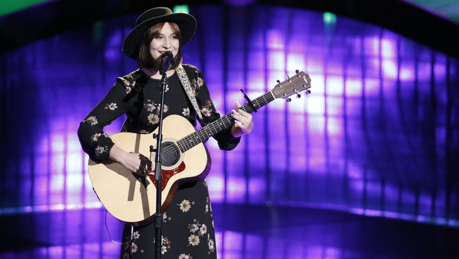 "Gulf Breeze resident Xaris Waltman performs her ""blind audition"" on 'The Voice' in June of 2017."