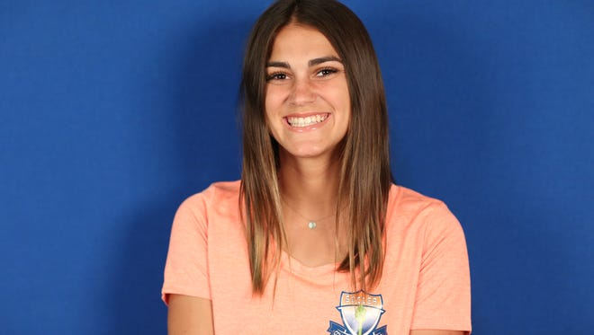 Jessica Glick is a member of the COS Giants women's soccer team.
