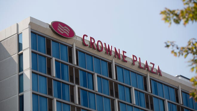 The Crowne Plaza Chicago O'Hare Hotel & Conference Center in Rosemont, Ill.