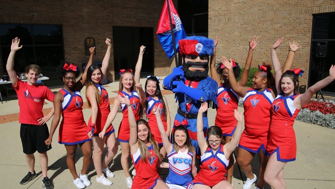 Volunteer State Community College introduced a new mascot Oct. 18, and are looking for name suggestions.