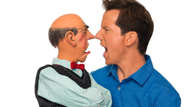 Comedian and ventriloquist Jeff Dunham will take his hilarious cast of characters, including Walter, to the Abraham Chavez Theatre on Wednesday and Thursday.
