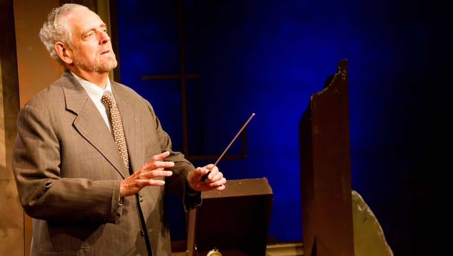 "Broadway and film actor Peter Van Norden returns to the Rubicon Theatre Company in the role of German composer Wilhelm Furtwängler in ""Taking Sides."""