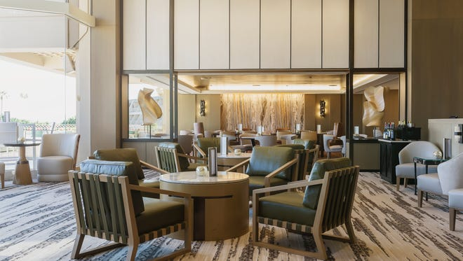 The Thirsty Camel lounge at the Phoenician has gotten a fresh revamp.