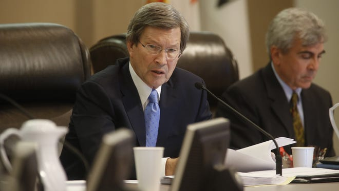 City Attorney Lew Shelley discusses process for hiring his replacement.