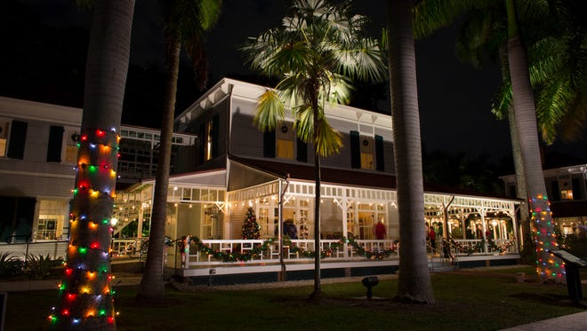 The 42nd annual Holiday Nights at the Edison & Ford Winter Estates takes place through Dec. 31.