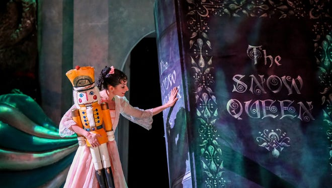 """Annia Hidalgo goes on a fantasy adventure in """"The Nutcracker,"""" performed by Milwaukee Ballet."""