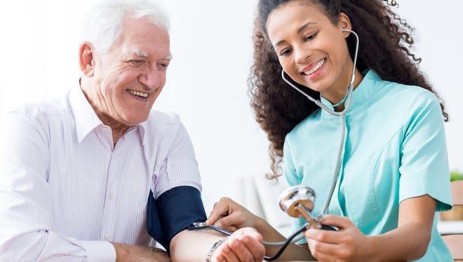 Get your blood pressure measured.
