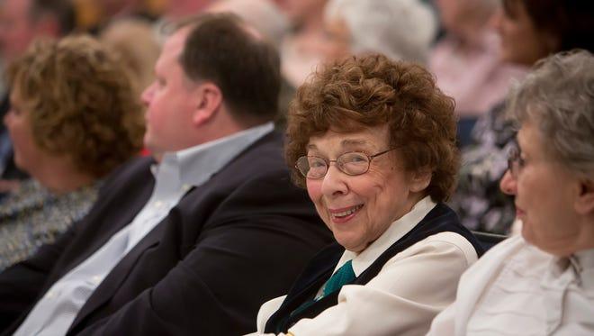 Christine Lindsay, 93, died October 24, 2017