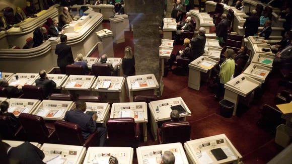The Alabama House of Representatives