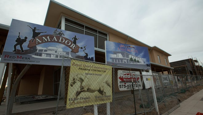 Visit Las Cruces: The city's Convention and Visitor's bureau will occupy this end of The Amador at Main Street and Amador Avenue.