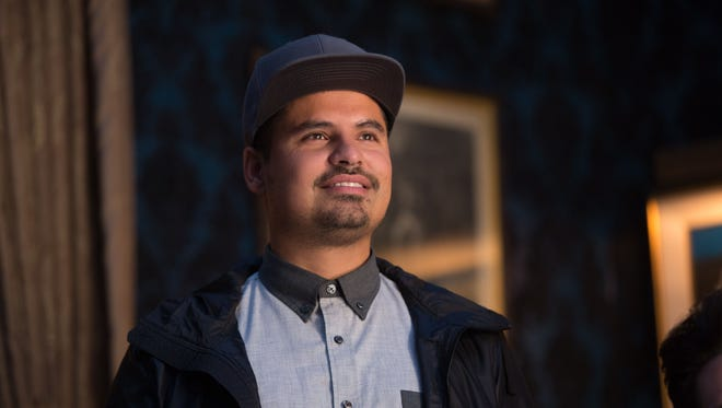 Luis (Michael Peña) in a scene from 'Ant-Man.'
