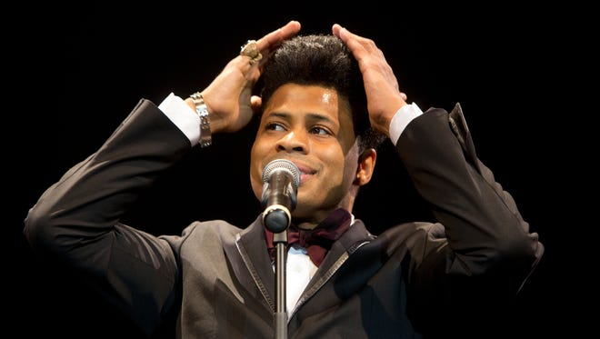 """Chester Gregory stars in """"The Eve of Jackie Wilson"""""""