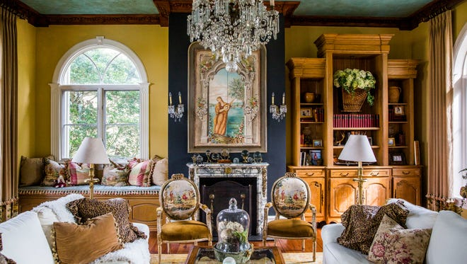One of the four homes included on this year's House and Garden Tour presented by the Naples Garden Club reflects a rich New Orleans style straight out of the 20th century.