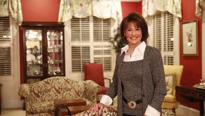 Professional image consultant and Florida State University alumna Susan Bigsby poses in the Kappa Delta sorority house Tuesday, Jan 22.