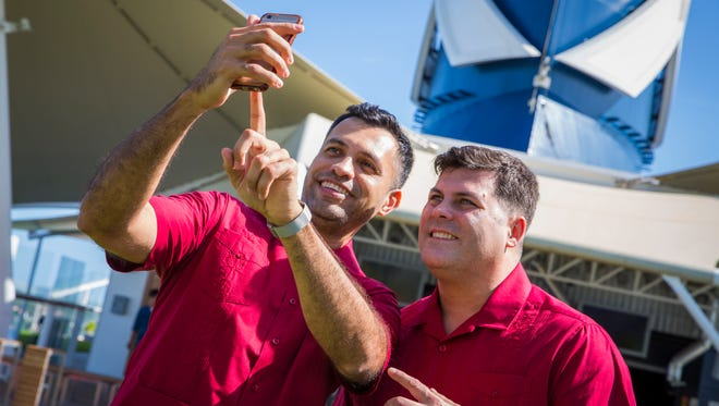 South Florida residents Francisco Vargas and Benjamin Gray became the first same-sex couple to be legally married at sea  on Jan. 29, 2018. They were sailing on Celebrity Cruises' Celebrity Equinox.