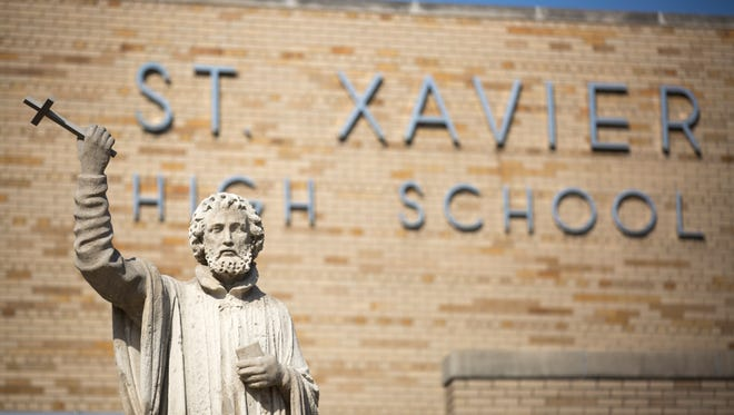 Mon., Feb. 12, 2018:  St. Xavier High School in Finneytown. The Enquirer/Carrie Cochran