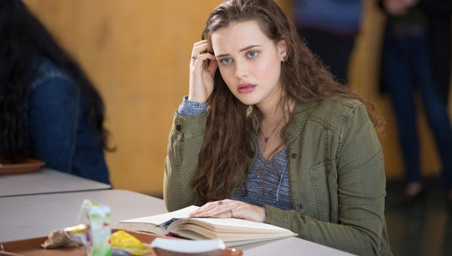 "Hannah Baker (Katherine Langford) takes her own life in Netflix series ""13 Reasons Why,"" which recounts why she did it and the impact on her classmates."