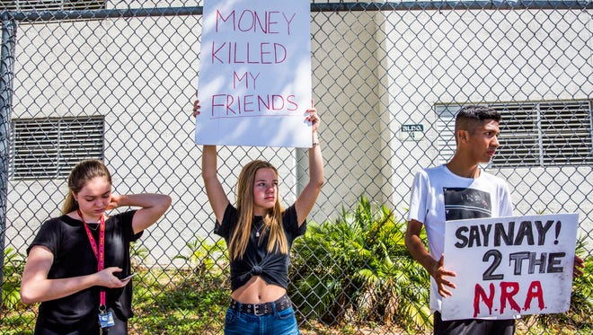 Students across the nation plan to walkout of their schools to protest gun control.