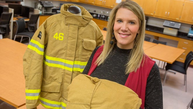FSU Assistant Professor Meredith McQuerry is  an expert on protective clothing for first responders,