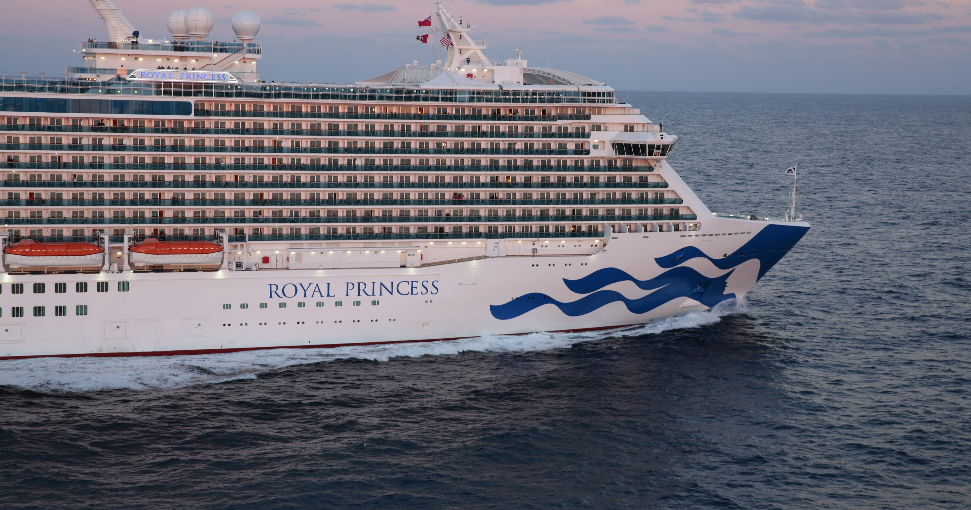 Cruise death: Woman who fell from Princess ship nervous ...