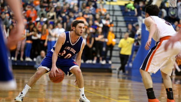 Briarcliff defeated Blind Brook, 48-39, in the Section